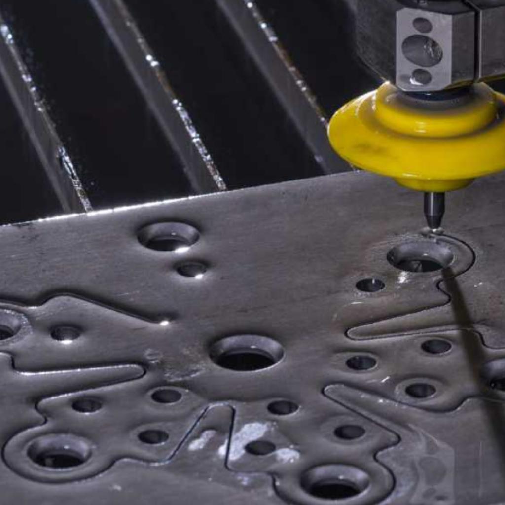 Waterjet cutting at PFG Group Hobart